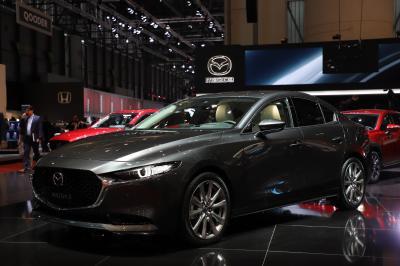 Mazda 3 Berline | nos photos au salon de Genève 2019
