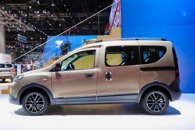 Dacia Dokker Stepway Ultimate | nos photos au salon de Genève 2019