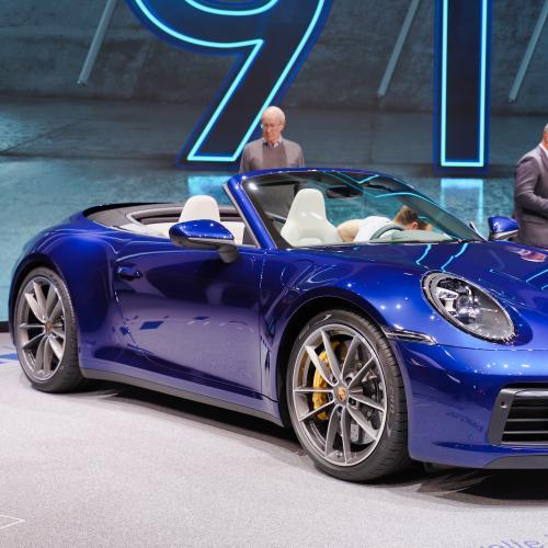 Porsche 911 Cabriolet | nos photos au salon de Genève 2019