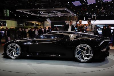 Bugatti La Voiture Noire | nos photos de l'hypercar française au Salon de Genève 2019