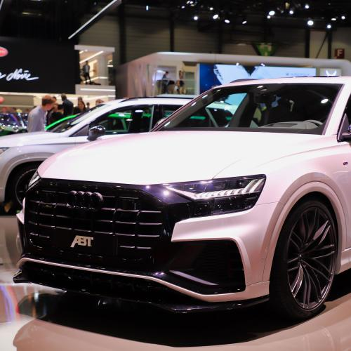Audi Q8 50 version ABT | nos photos au salon de Genève 2019