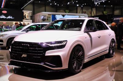 Audi Q8 50 version ABT | nos photos au salon de Genève 2019