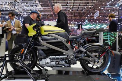 Harley-Davidson LiveWire | nos photos de la moto électrique au salon de Genève 2019