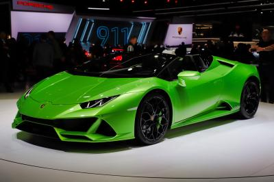 Lamborghini Huracan Evo Spyder | nos photos au salon de Genève 2019
