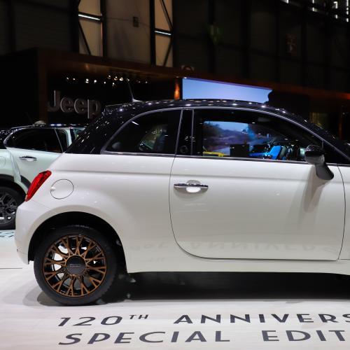 Fiat 500 120ème | nos photos au salon de Genève 2019