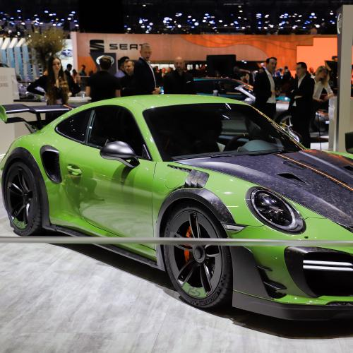 Porsche Techart | nos photos au salon de Genève 2019