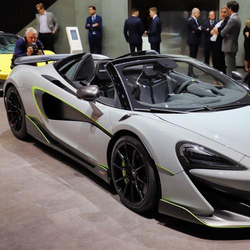 McLaren 600 LT Spyder | nos photos au salon de Genève 2019