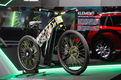 Skoda Klement | nos photos du vélo électrique au salon de Genève 2019