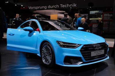Audi A7 PHEV | nos photos au salon de Genève 2019