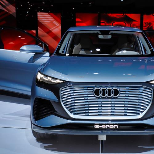 Audi Q4 e-tron | nos photos au salon de Genève 2019