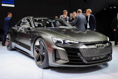 Audi e-tron GT | nos photos au salon de Genève 2019