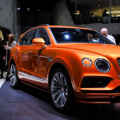 Bentley Bentayga Speed | nos photos au salon de Genève 2019