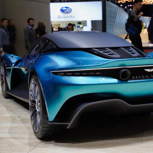 Aston Martin Vanquish Vision | nos photos du concept au Salon de Genève 2019