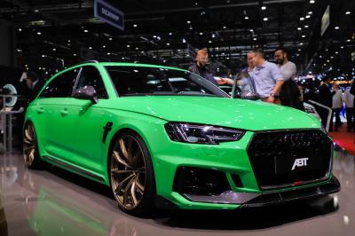 ABT Audi RS4+ | nos photos au salon de Genève 2019