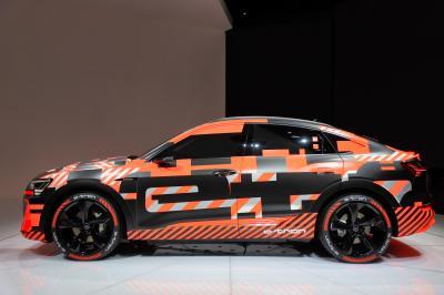 Audi e-tron | nos photos au salon de Genève 2019