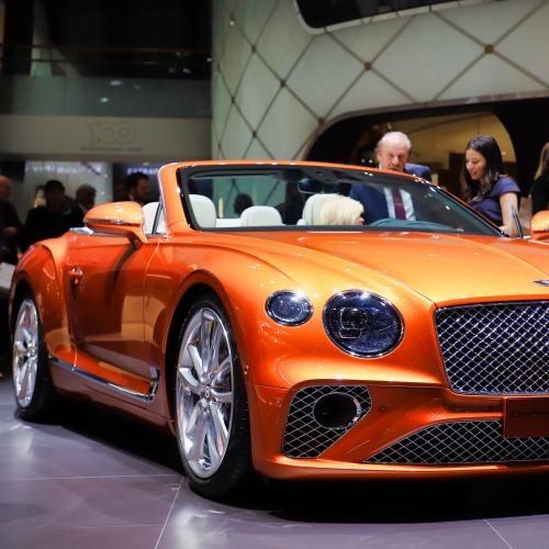 Bentley Continental GT Cabriolet | nos photos au salon de Genève 2019