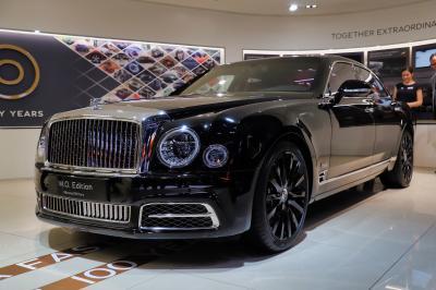 Bentley Mulsanne W.O. Edition by Mulliner | nos photos au salon de Genève 2019