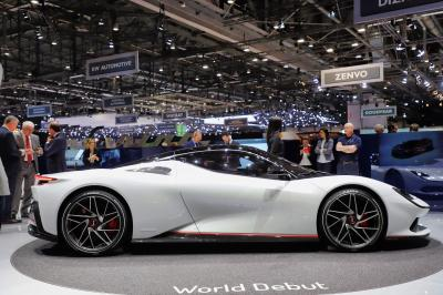 Pininfarina Battista | nos photos au salon de Genève 2019
