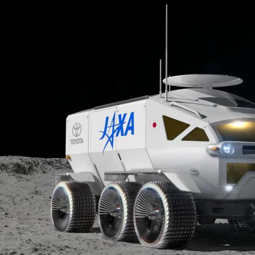 Toyota x JAXA | les photos officielles du véhicule d'exploration lunaire à hydrogène