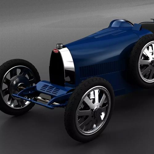 Bugatti Baby II | les photos officielles de la Bugatti électrique