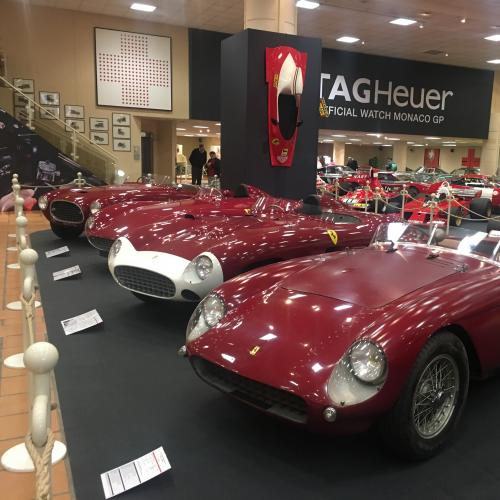 Collection Ferrari à Monaco | nos photos de l'exposition