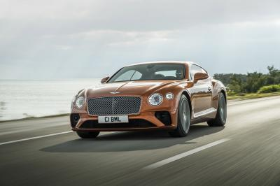 Bentley Continental GT Coupé | les photos officielles de la version V8