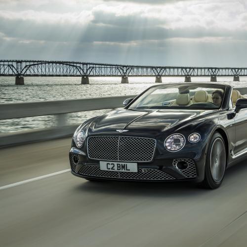 Bentley Continental GT Cabriolet | les photos officielles de la version V8