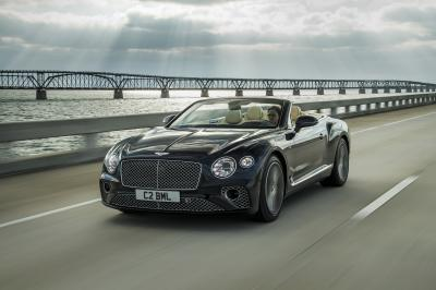 Bentley Continental GT Cabriolet | les photos officielles de la version V8