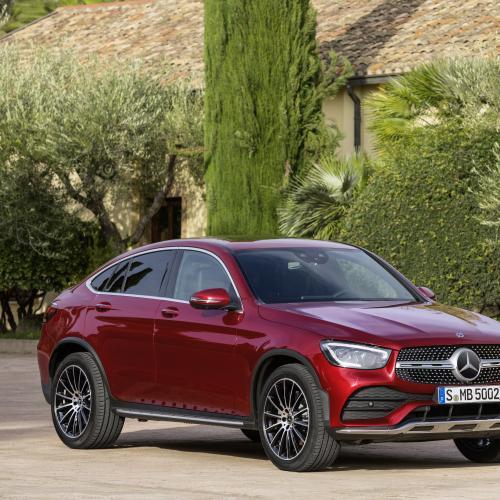 2019 Mercedes Benz Glc Coupe Camshaft: Mercedes GLC : Toutes Les Photos Du Coupé 2019
