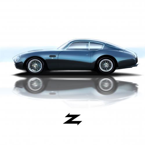 Aston Martin DBZ GT Zagato   les photos officielles de l'édition limitée