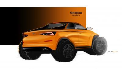 Skoda Kodiaq Pick-up | les premières photos du concept