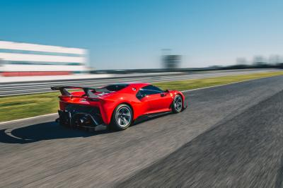 Ferrari P80C | les photos officielles