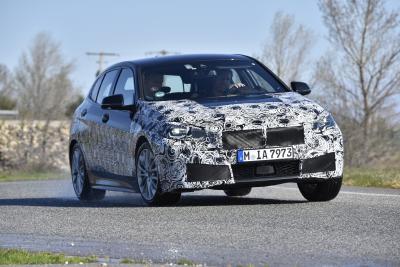 BMW Série 1 | les photos officielles de la pré-série