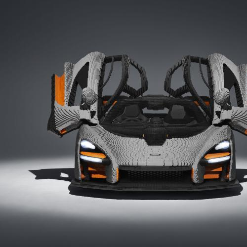 McLaren Senna | les photos officielles de la version Lego