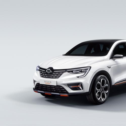 Renault XM3 Inspire | les photos officielles du SUV Coupé