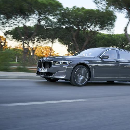 BMW Série 7   les photos officielles de l'essai au Portugal