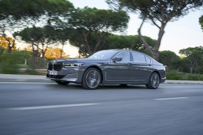 BMW Série 7 | les photos officielles de l'essai au Portugal