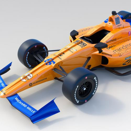 500 Miles d'Indianapolis   les photos officielles de la McLaren de Fernando Alonso