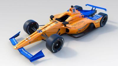 500 Miles d'Indianapolis | les photos officielles de la McLaren de Fernando Alonso