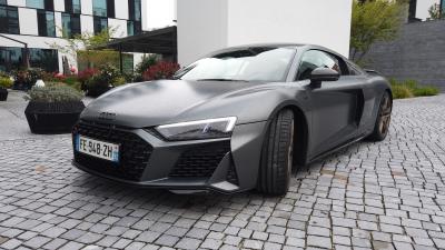 Audi R8 restylée | nos photos de l'essai