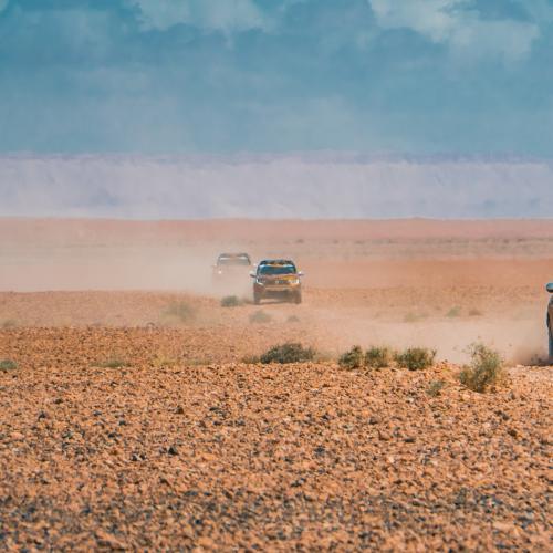 Dacia Duster | les photos officielles du défi dans le désert