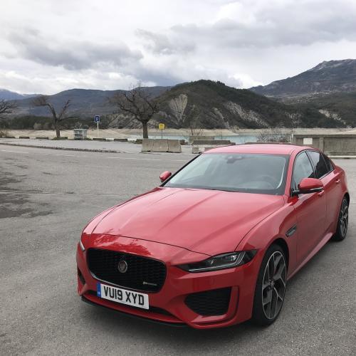 Jaguar XE restylée   toutes les photos de l'essai