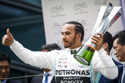 Grand Prix de Chine de Formule 1 | le doublé Mercedes en photos