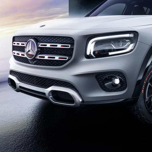 Mercedes GLB Concept | les photos officielles du SUV 7 places essence