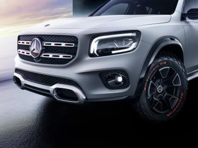 Mercedes GLB Concept | les photos officielles du SUV 7 places essence