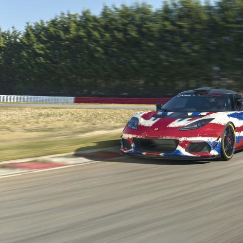 Lotus Evora GT4 Concept | les photos officielles de la pistarde