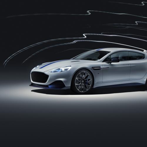 Aston Martin Rapid E | les photos officielles de la 1ère voiture électrique Aston