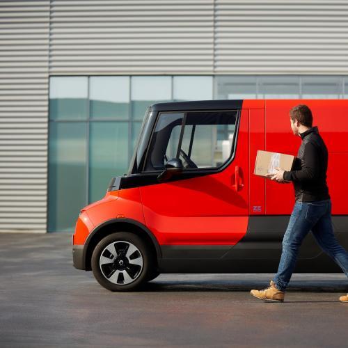 Renault EZ-Flex | les photos officielles du véhicule autonome électrique pour la livraison