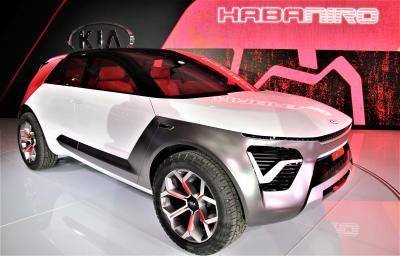 Kia Habaniro | les photos du concept de SUV électrique et autonome