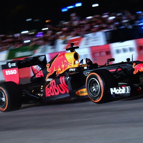 Grand Prix du Vietnam 2020   l'exhibition Red Bull à Hanoï